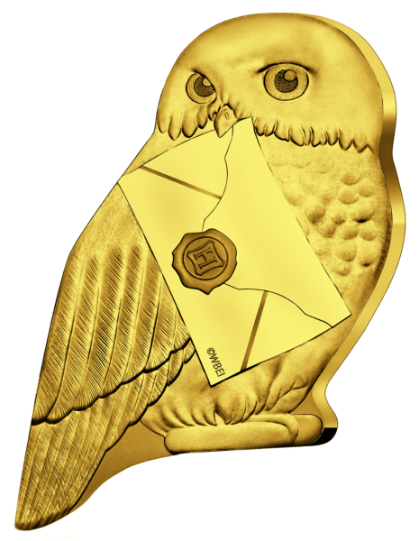 Harry Potter Hedwig Eulenform - Vorderseite